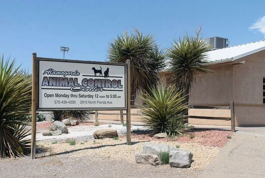 Alamogordo Animal Control Center sign