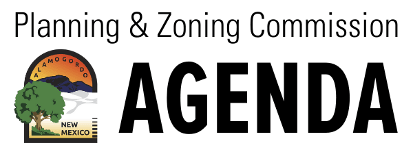 Planning and Zoning Commission Agenda Button